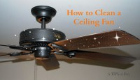 How To Clean Ceiling Fans Step By Step DIY Tutorial ...