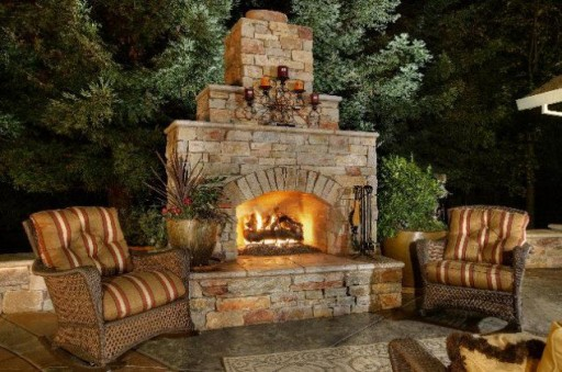 Outdoor Fireplace Designs And Diy Inspirations How To