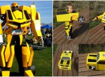 DIY Transformer Costume   How To Instructions