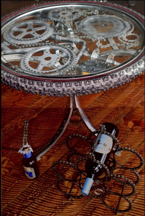 Bicycle Coffee Table Designs  How To Instructions