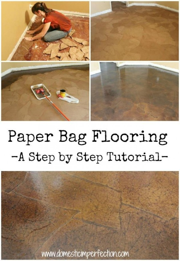 How To Make Paper Bag Floor  How To Instructions