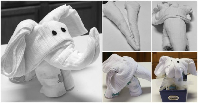 How To Make Towel Elephant  How To Instructions