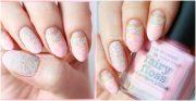 marble moon nails
