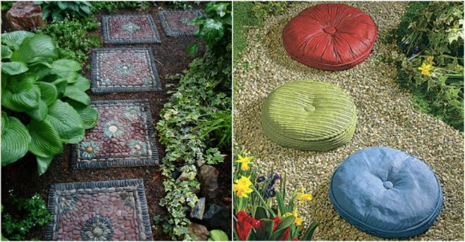 How To Make DIY Garden Stepping Stones  How To Instructions