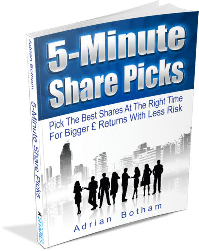 5-Minute Share Picks Ebook