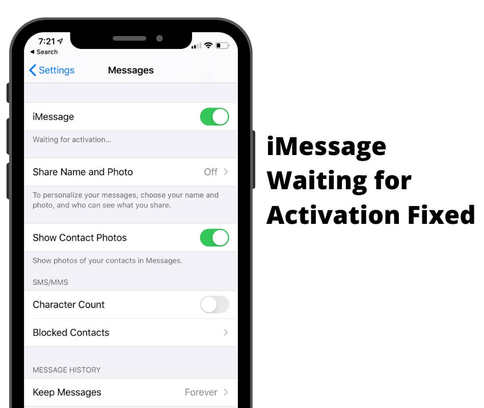 12 Fixes iMessage Waiting for Activation on iPhone 12 Pro