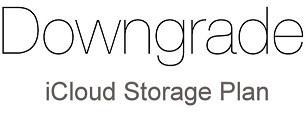 How to Downgrade iCloud Storage Plan on iPhone, iPad, Mac