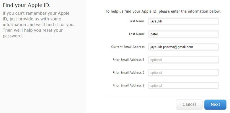 Easy way to find forgotten Apple ID From iPhone. Mac