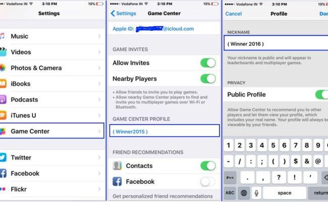 How To Change Game Center Nickname On Iphone Ipad Mac