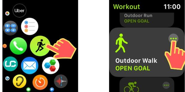 Приложение для тренировки на Apple Watch