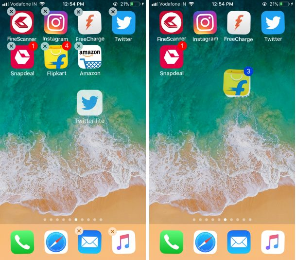 how to move apps