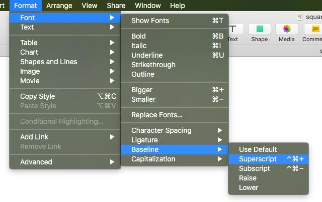 Square Root Symbol For Mac