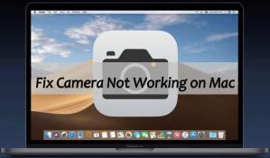 Fix Camera Not Working on MacBook Mojave 10.14
