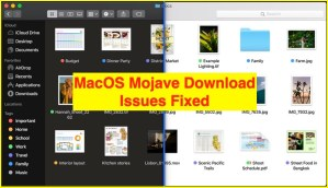 MacOS Mojave Download Stop/Slow Down/Stuck: Mac Re-downloading again & Again