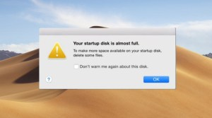 Fix Mac Startup Disk is Full on macOS Mojave: MacBook Pro, Air