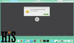 Screen Recording Can't be Saved & Record Screen Not Working, Can't Play: MacOS Mojave & Earlier