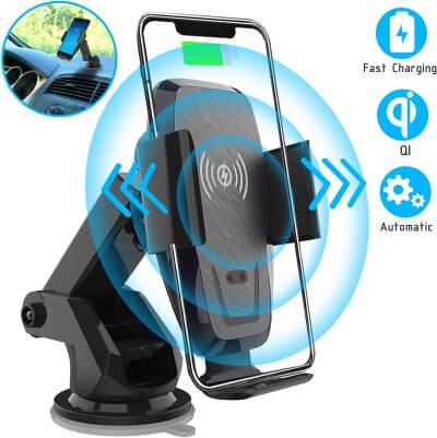 Iotton Wireless Car Charger, Авто-зажим