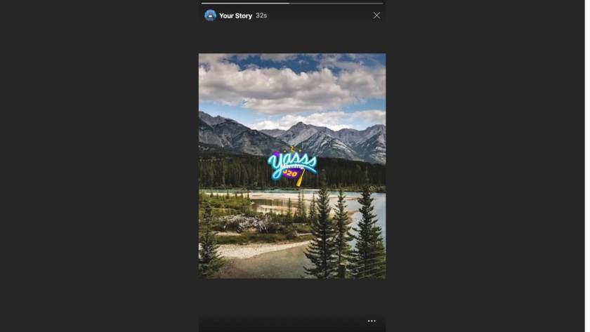 Нажмите на свою историю Instagram, чтобы просмотреть на Safari Mac