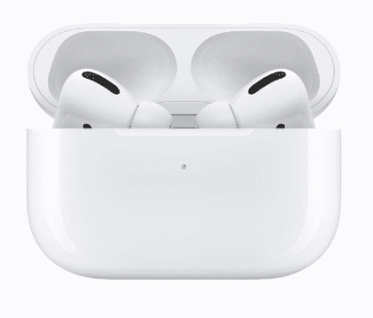Steps to check your Air pod's battery percentage on an iPhone