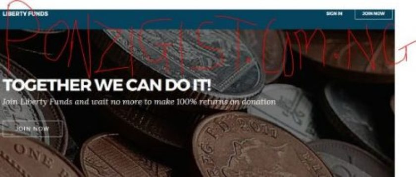 Libertyfunds.org - 100% Return Investment & 20Days Old now Paying..