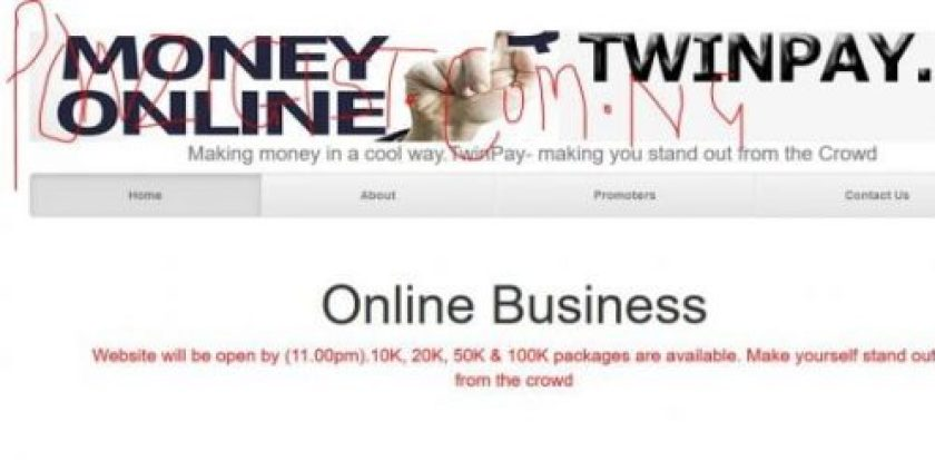 TwinPay Login - TwinPay Easy way of making money 100% of Investment