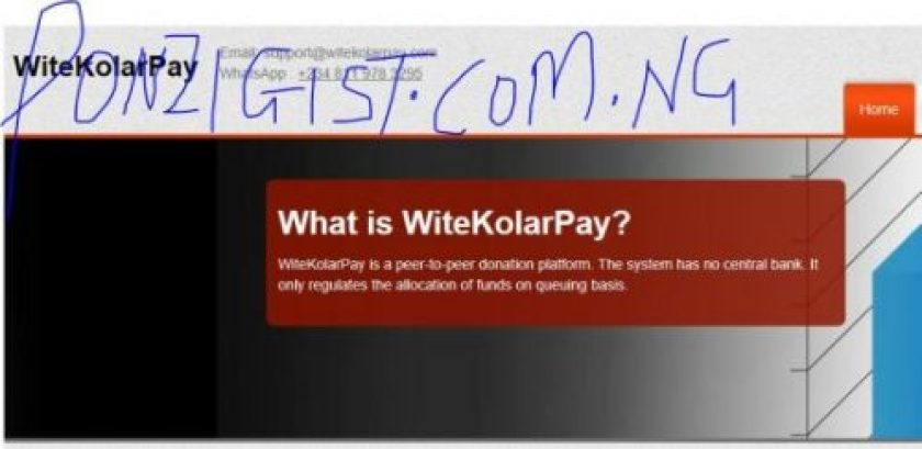 WiteKolarPay.com - Launched Moment ago with 100%