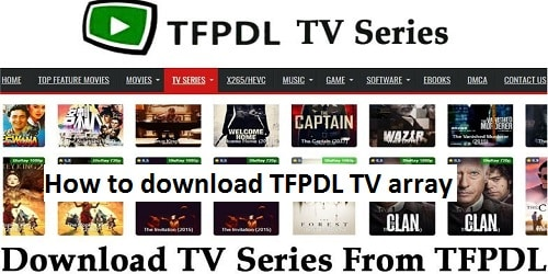 How to download TFPDL TV array