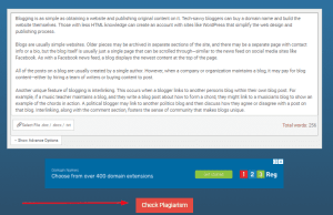 Plagiarism Checkers tool