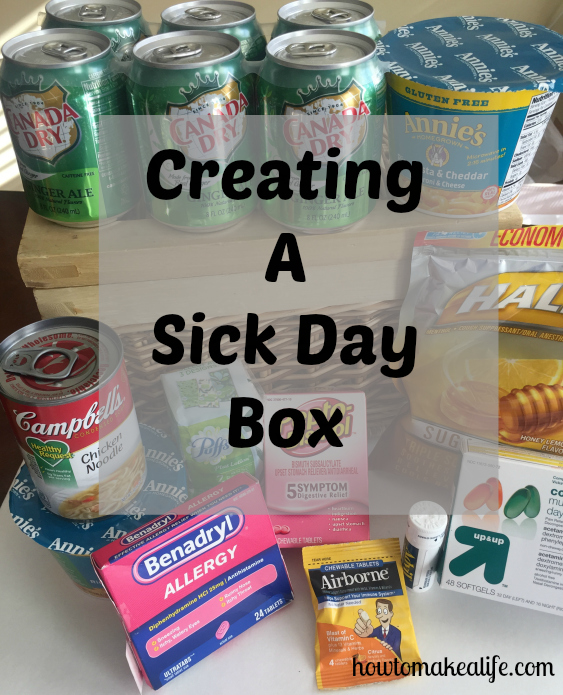 Sick Day Box