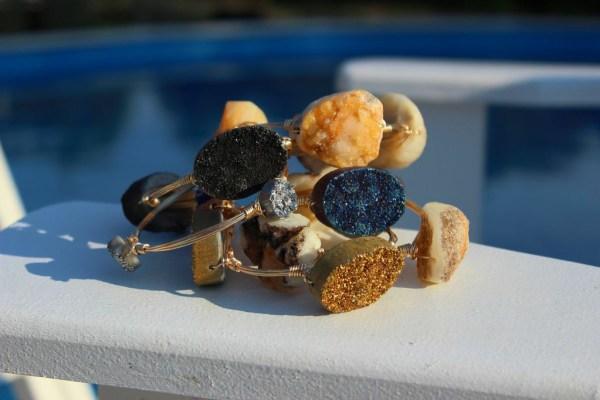 W2W stone bracelets