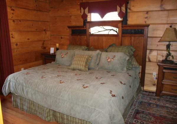 cabin 36 bedroom