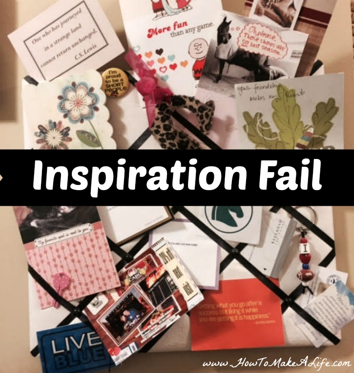 Inspiration Fail