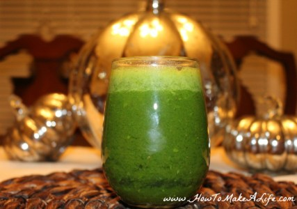 Green inflammation smoothie