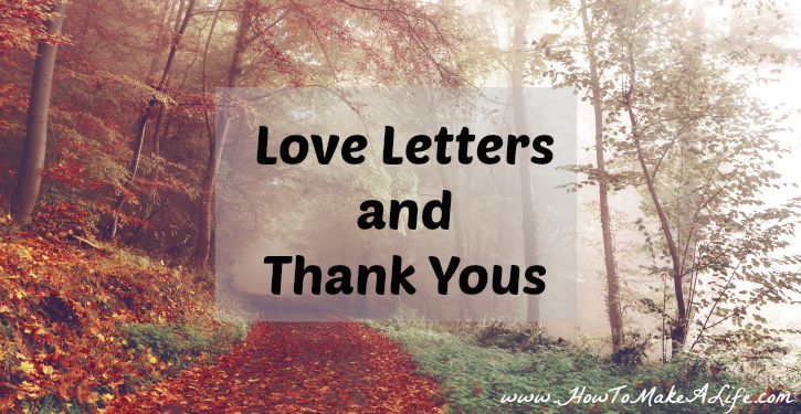 Stop the negative self talk by writing a love letter and thank you to your body.