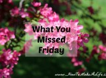 What You Missed Friday (April 3-7)