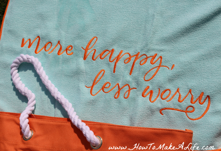 More happy less worry