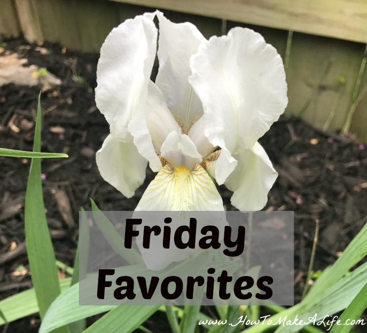 Friday Favorites for April 21, 2017