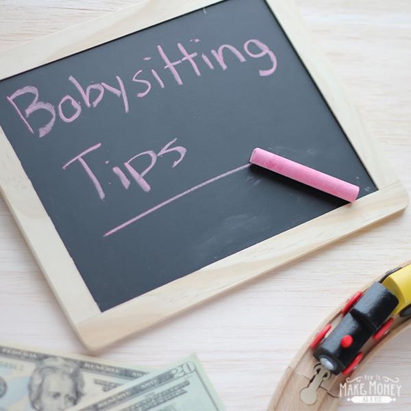 BABYSITTING TIPS SQUARE