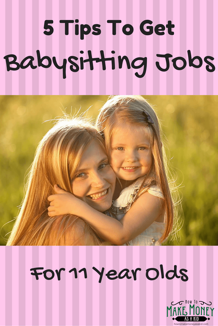 easy  babysitting jobs for 11 year olds