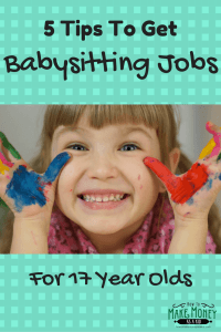 how to get a babysitting job at 16
