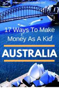 How to Make Money as a Kid in Australia
