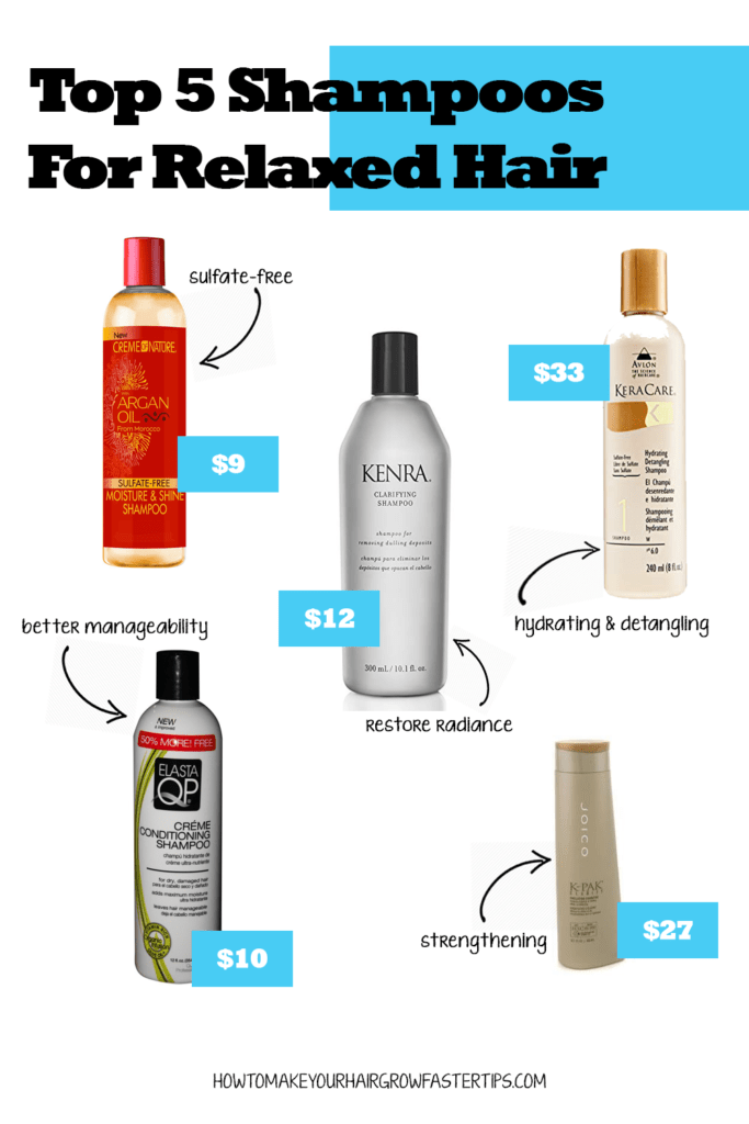 Top 5 Shampoos and Cleansers for Relaxed Hair   How to ...
