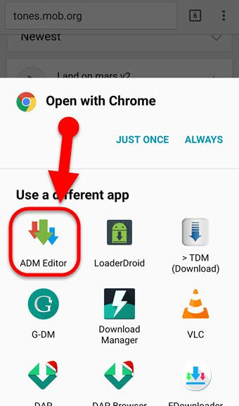 how to use advanced download manager app