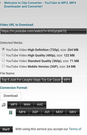 Free youtube to mp4 converter online Clipconverter cc