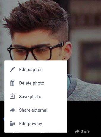 Make Your Facebook Profile Picture Private on Mobile