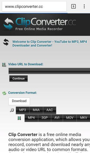 free youtube downloader mp3 Clipconverter cc