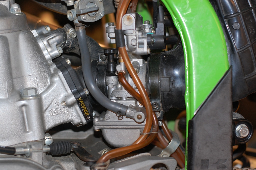 Wiring Diagram How To Motorcycle Repair Kx250 Carb Clean Amp Jetting Check