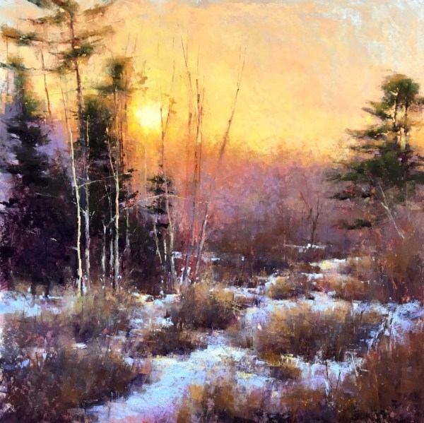 Pastel Painting Sunset