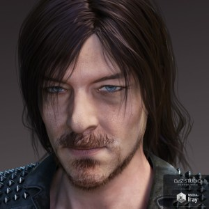 Willis Hair and Beard for Genesis 3 and 8 Male(s)