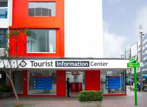 Tourist Information Center in Miraflores Lima Peru